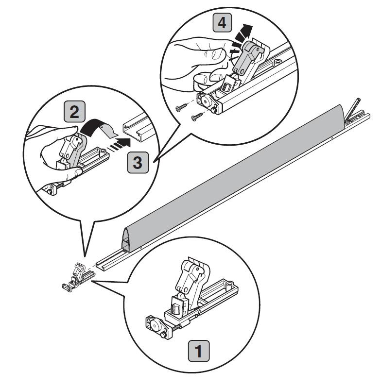 úprava nárazové lišty