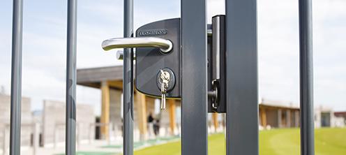 Zámky na brána