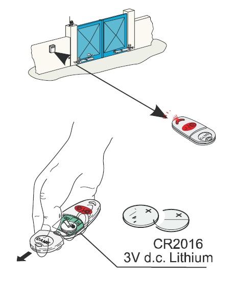 Ladění ovladače CAME